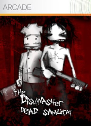 The Dishwasher: Dead Samurai - Image: Thedishwatercover