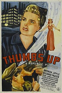 <i>Thumbs Up</i> (film) 1943 American musical drama film directed by Joseph Santley