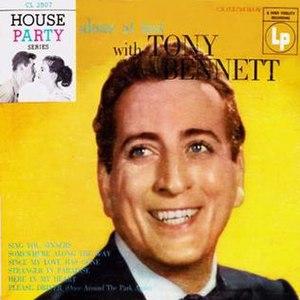 Alone at Last with Tony Bennett - Image: Tony Bennett Alone at Last