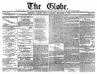 The Globe (Toronto newspaper) - 2 December 1845