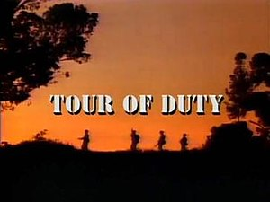 Tour of Duty (TV series) - Title card (Seasons 2–3)