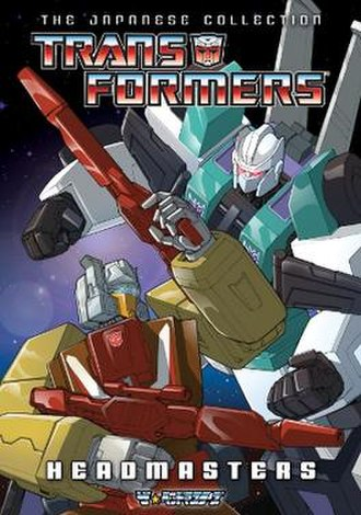Transformers: The Headmasters - Image: Transformers The Headmasters DVD cover art
