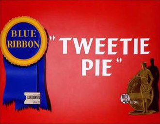 Tweetie Pie - The re-release title card