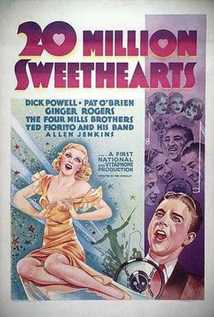 Twenty Million Sweethearts - Theatrical release poster