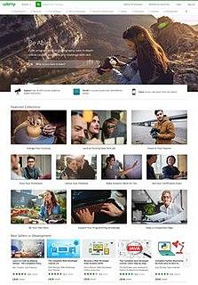 Udemy American online learning platform