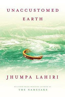<i>Unaccustomed Earth</i> book by Jhumpa Lahiri