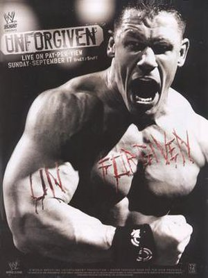 Unforgiven (2006) - Promotional poster featuring John Cena