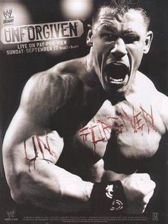 Unforgiven (2006) - Promotional poster featuring John Cena