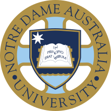University of Notre Dame Australia Logo.svg