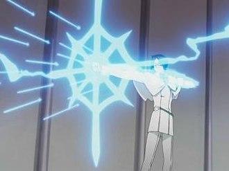Uryū Ishida - Uryū firing arrows from Ginrei Kojaku.