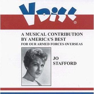 V-Disc Recordings, Jo Stafford - Image: V Disc Recordings Jo Stafford