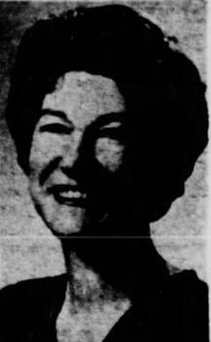 "Verona Burkhard - 1966 ""Colorado Women of Achievement"" award photo"