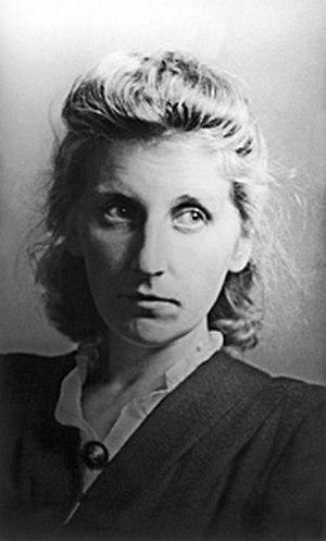 Nina Veselova - Image: Veselova Nina Leonidovna veselova bw