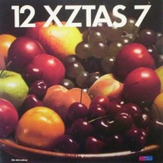 Welcome to the Pleasuredome (song) - 12 XZTAS 7 cover art.