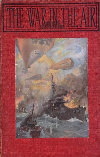 The War in the Air - First US edition (Macmillan)