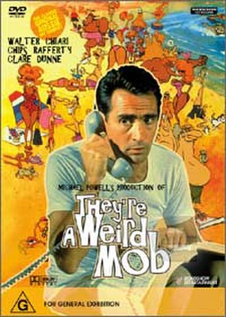 They're a Weird Mob (film) - DVD cover