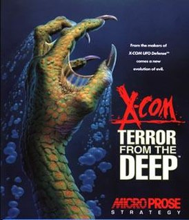 <i>X-COM: Terror from the Deep</i> video game