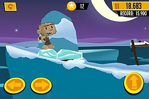 1000 Heroz - 1000 Heroz is a platform game that features a new level each day for 1,000 days after its release.