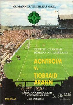 1989 All-Ireland Senior Hurling Championship Final Programme.jpg