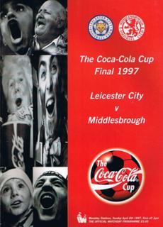 1997 Football League Cup Final Football match
