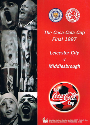 1997 Football League Cup Final - Image: 1997leaguecupfinalpr og