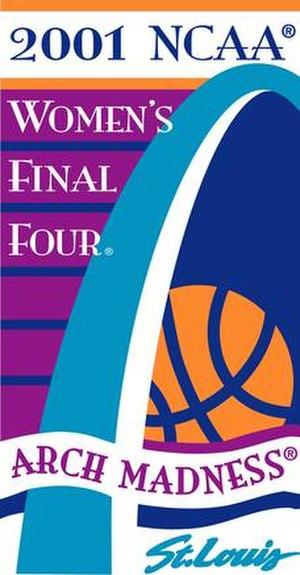 2001 NCAA Division I Women's Basketball Tournament - Image: 2001Womens Final Four Logo