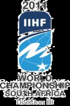 2011 IIHF World Championship Division III - Image: 2011 IIHF World Championship Division III Logo