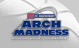 2015 Missouri Valley Conference Men's Basketball Tournament - Image: 2015 MVC B Ball Logo