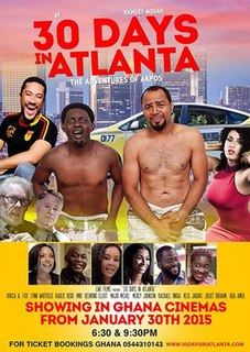 <i>30 Days in Atlanta</i> 2014 film by Robert Peters