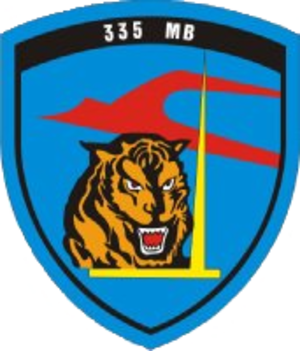 335th Squadron (HAF) - The badge of 335 Sq.