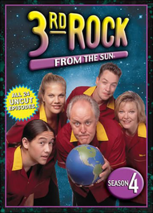 3rd Rock from the Sun (season 4) - DVD cover