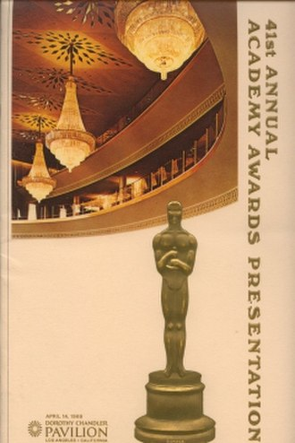 41st Academy Awards - Image: 41st Academy Awards
