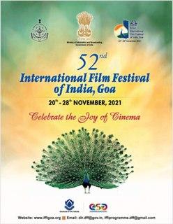 52nd International Film Festival of India 2021 Indian film festival