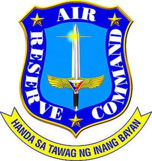 Philippine Air Force Reserve Command - Coat of Arms of the Air Reserve Command