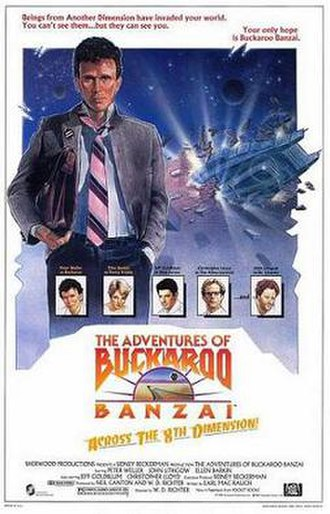 The Adventures of Buckaroo Banzai Across the 8th Dimension - Theatrical release poster
