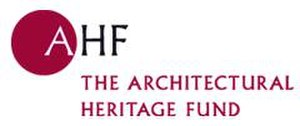 Architectural Heritage Fund - The A.H.F. logo.