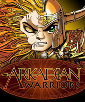 Arkadian Warriors - Image: Arkadian Warriors Coverart