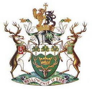 Waltham Forest London Borough Council - Image: Arms waltfor lb