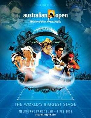 2009 Australian Open - Image: Australian Open 2009 poster