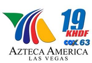 KHDF-CD - Image: Azteca Las Vegas