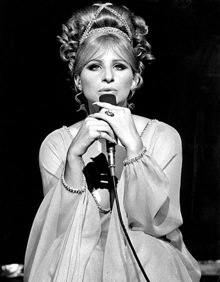 On The Ed Sullivan Show in 1969 Barbra Streisand singing- 1969.jpg