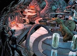 Batcave - Image: Batcave FE4