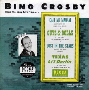 Bing Crosby Sings the Song Hits from... - Image: Bing Crosby Sings the Song Hits from... cover