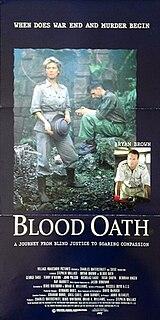 <i>Blood Oath</i> (film) 1990 Australian film
