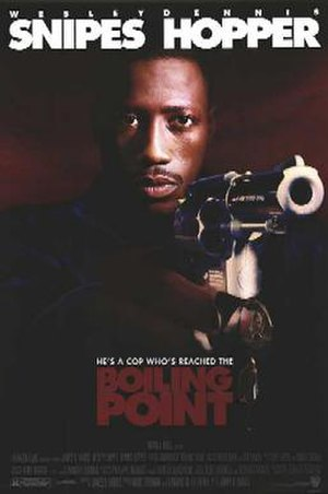 Boiling Point (1993 film) - Theatrical release poster
