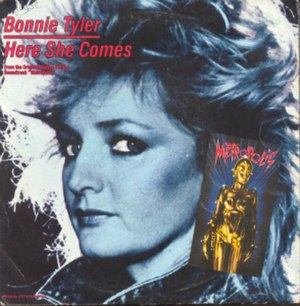 Here She Comes - Image: Bonnie Tyler Here She Comes artwork