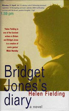 Image result for bridget jones diary helen fielding