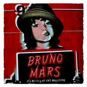 It's Better If You Don't Understand - Image: Bruno mars ep cover