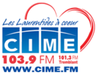 CIME-FM - longtime Corus-era CIME logo; used until August 2011