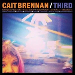 Third (Cait Brennan album) - Image: Caitbrennan third acover